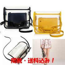 VASIC Leather Crystal Clear Bags Elegant Style Shoulder Bags