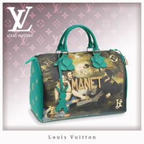 Louis Vuitton MONOGRAM Casual Style Leather Handbags