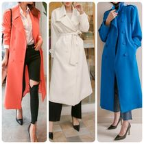 Long Elegant Style Trench Coats