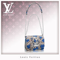 Louis Vuitton TWIST Casual Style 2WAY Chain Other Animal Patterns Shoulder Bags
