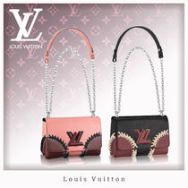 Louis Vuitton EPI Casual Style 2WAY Chain Leather Shoulder Bags