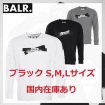 BALR Crew Neck Sweat Street Style Long Sleeves Sweatshirts