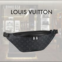 Louis Vuitton MONOGRAM Unisex Street Style Leather Hip Packs