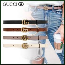 GUCCI Casual Style Leather Belts