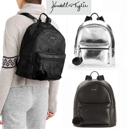 Collaboration Plain PVC Clothing Backpacks