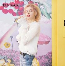 ELF SACK Lace Shirts & Blouses