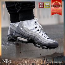 Nike AIR MAX 95 Unisex Street Style Bi-color Sneakers