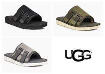 UGG Australia Blended Fabrics Plain Shower Shoes Shower Sandals