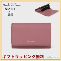 Paul Smith Stripes Leather Card Holders
