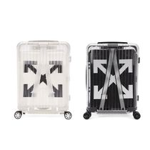 Off-White Unisex Street Style Collaboration Luggage & Travel Bags