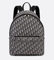 Christian Dior Monogram Unisex Canvas Street Style 3WAY Handmade Backpacks