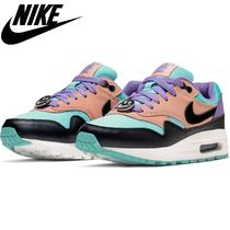 Nike AIR MAX 1 Casual Style Unisex Low-Top Sneakers