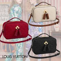 Louis Vuitton MONOGRAM EMPREINTE Monogram Blended Fabrics Tassel 2WAY Bi-color Leather