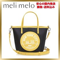 Meli Melo Casual Style Nylon Street Style 2WAY Shoulder Bags