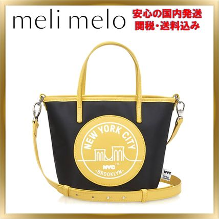 Casual Style Nylon Street Style 2WAY Shoulder Bags