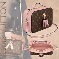 Louis Vuitton MONOGRAM Monogram Canvas Blended Fabrics Tassel 2WAY Bi-color