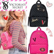 Victoria's secret Heart Casual Style Chain Backpacks