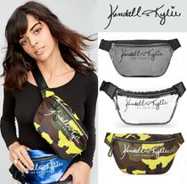 Kendall + Kylie Camouflage Casual Style Collaboration Plain PVC Clothing