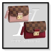 Louis Vuitton Other Check Patterns Canvas Blended Fabrics Plain