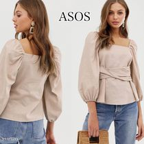 ASOS Casual Style Cropped Plain Shirts & Blouses