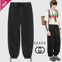 GUCCI Denim Plain Joggers Jeans & Denim