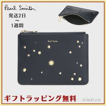 Paul Smith Star Leather Card Holders