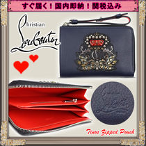 Christian Louboutin Studded Leather With Jewels Accessories