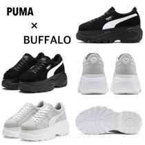 PUMA SUEDE Rubber Sole Casual Style Suede Street Style Collaboration