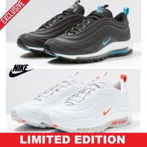 Nike AIR MAX 97 Blended Fabrics Street Style Sneakers