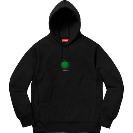 Supreme Hoodies Street Style Cotton Oversized Hoodies 2