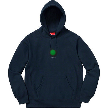 Supreme Hoodies Street Style Cotton Oversized Hoodies 3