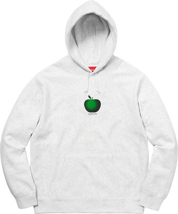 Supreme Hoodies Street Style Cotton Oversized Hoodies 4