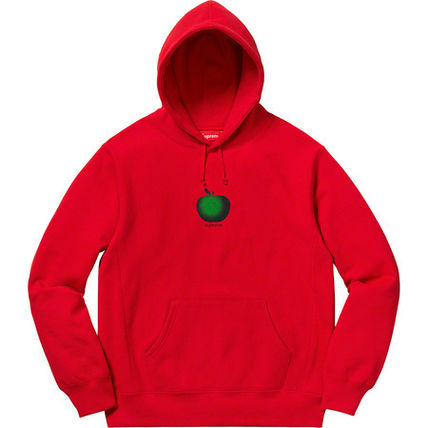 Supreme Hoodies Street Style Cotton Oversized Hoodies 7