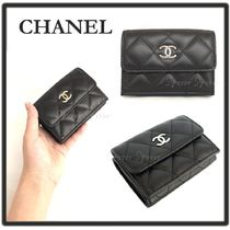 CHANEL MATELASSE Folding Wallets