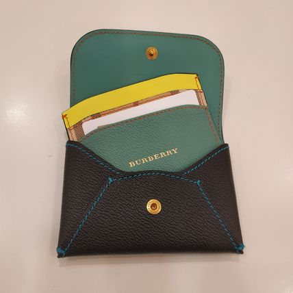Mayfield Bi-color Leather Twin Card Holders