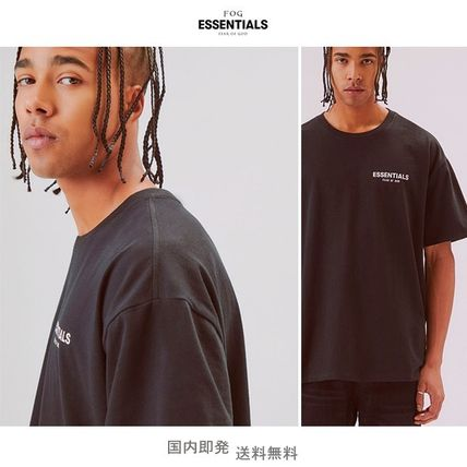 FEAR OF GOD More T-Shirts Unisex Street Style Short Sleeves Oversized T-Shirts 20