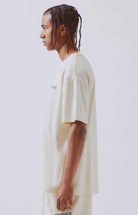 FEAR OF GOD More T-Shirts Unisex Street Style Short Sleeves Oversized T-Shirts 11