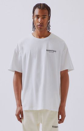 FEAR OF GOD More T-Shirts Unisex Street Style Short Sleeves Oversized T-Shirts 18