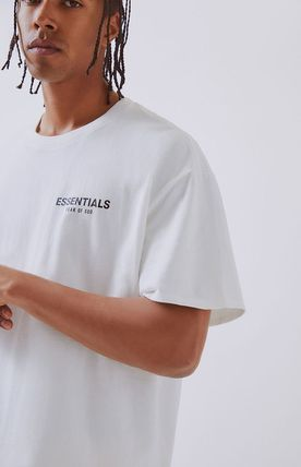 FEAR OF GOD More T-Shirts Unisex Street Style Short Sleeves Oversized T-Shirts 19