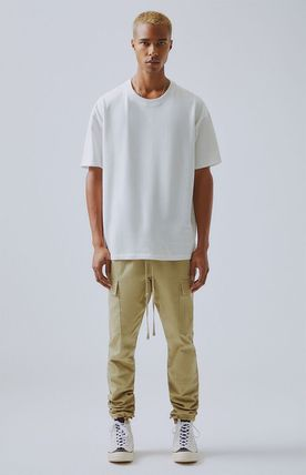 FEAR OF GOD More T-Shirts Unisex Street Style Short Sleeves Oversized T-Shirts 13
