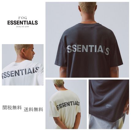 FEAR OF GOD More T-Shirts Unisex Street Style Short Sleeves Oversized T-Shirts