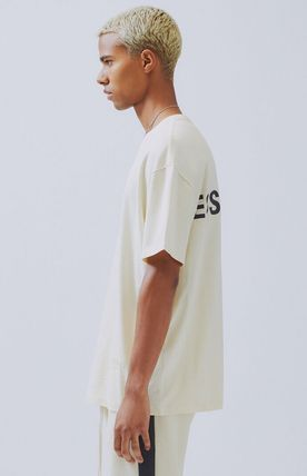 FEAR OF GOD More T-Shirts Unisex Street Style Short Sleeves Oversized T-Shirts 17