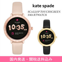 kate spade new york Casual Style Leather Digital Watches