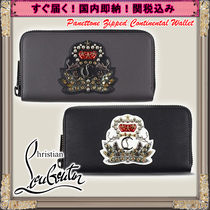 Christian Louboutin Panettone  Studded With Jewels Long Wallets