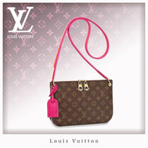Louis Vuitton MONOGRAM Monogram Casual Style Canvas Shoulder Bags