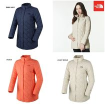 THE NORTH FACE Argile Unisex Wool Street Style Plain Long Bold Down Jackets