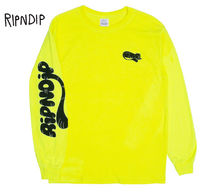 RIPNDIP Crew Neck Street Style Long Sleeves Long Sleeve T-Shirts