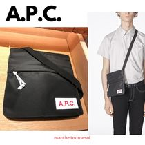 A.P.C. Nylon Plain Messenger & Shoulder Bags