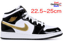 Nike JORDAN 1 Unisex Street Style Low-Top Sneakers