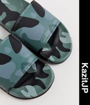 ASOS Camouflage Street Style Shower Shoes Shower Sandals